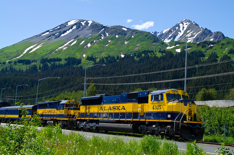 Alaska Railroad Seward Day Trip
