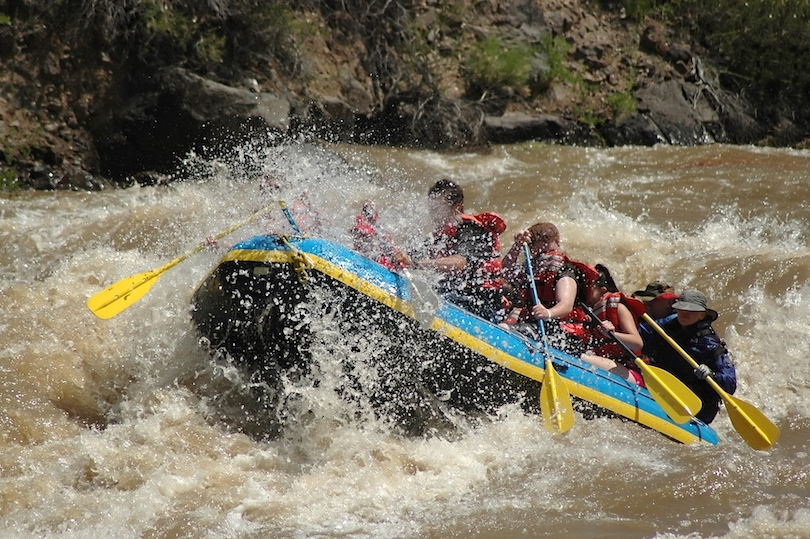 Taos Box Rafting