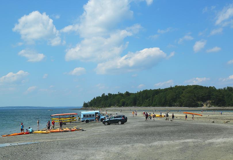 Land Bridge to Bar Island
