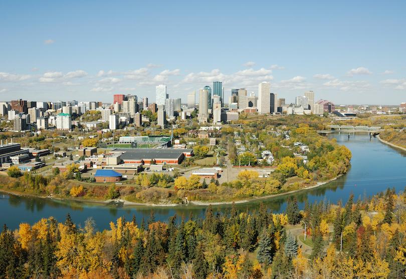 North Saskatchewan River Valley