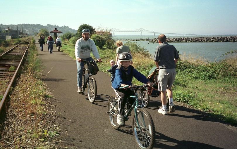 Astoria Oregon Riverwalk