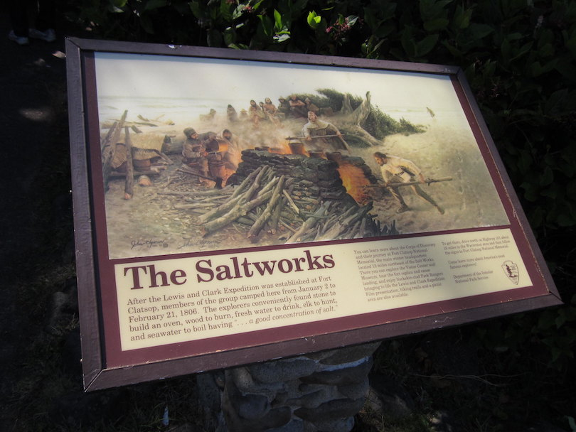 Lewis & Clark Salt Works