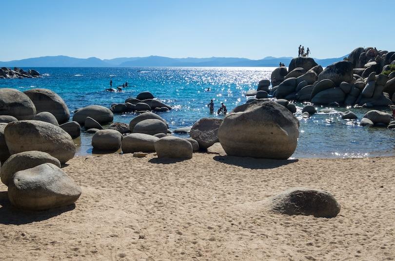 Sand Harbor Beach