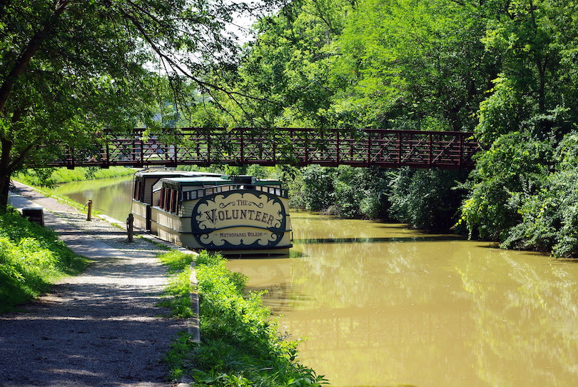Canal Experience at Providence Metropark