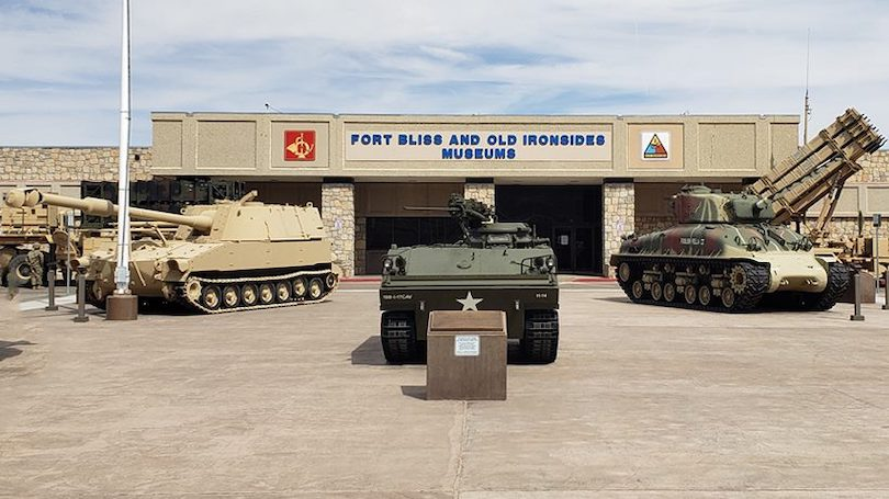 Fort Bliss and Ironsides Museums