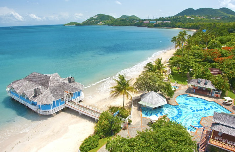 Sandals Halcyon Beach Resort Castries