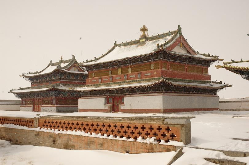Asian monastery photos