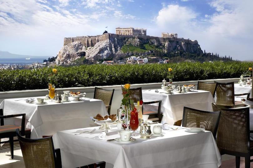 Hotel Grande Bretagne, Atenas