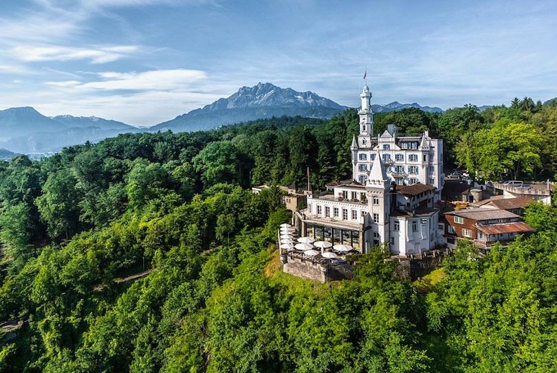 Hotel Chateau Gutsch, Lucerne