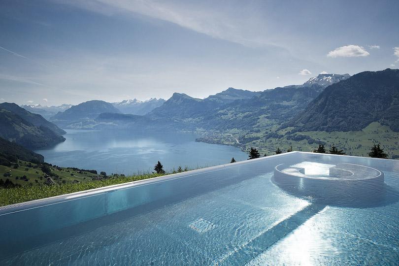 N.o 1 de hoteles increíbles en Suiza