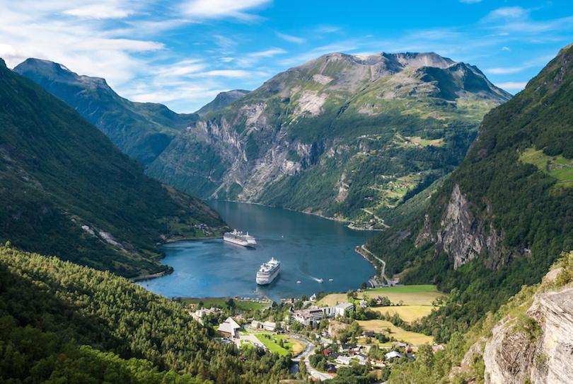 # 1 de atracciones turísticas en Noruega