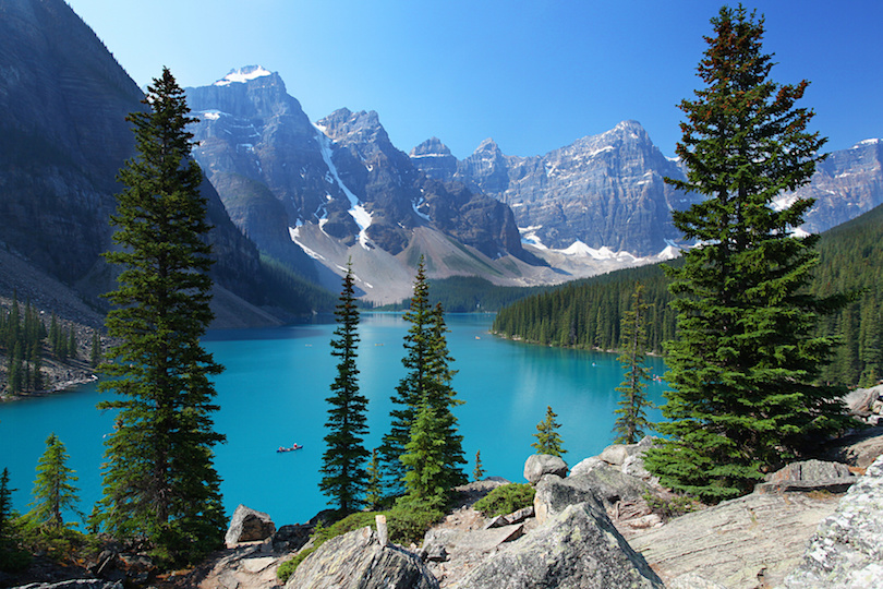 # 1 de lagos en Canadá