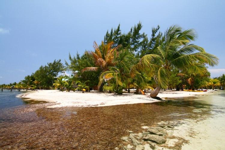 Atolón de arrecife de Glover