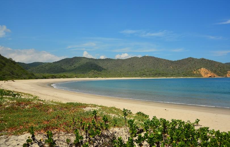 # 1 de las mejores playas de Ecuador