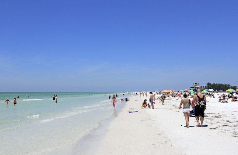 siesta_beach ▷ 10 mejores playas de Florida