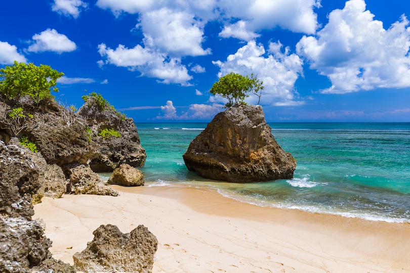 # 1 de las mejores playas de Indonesia