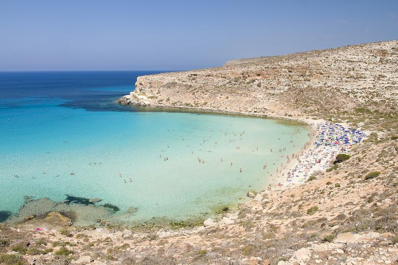 # 1 de las mejores playas de Italia