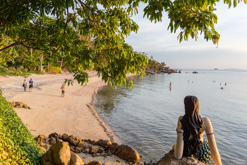 Haad Son Or Secret Beach Is One Of The Newer Beaches In Koh Phangan It Was Only Developed A Decade Ago As Part Larger Resort On Coast