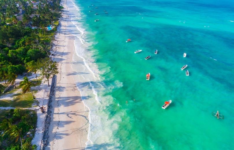 paje_beach ▷ 10 mejores playas de Tanzania