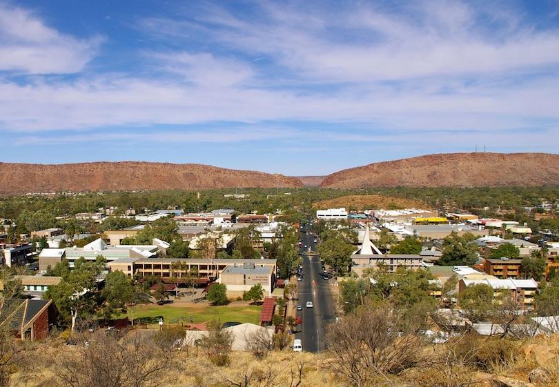 # 1 de pueblos pequeños en Australia