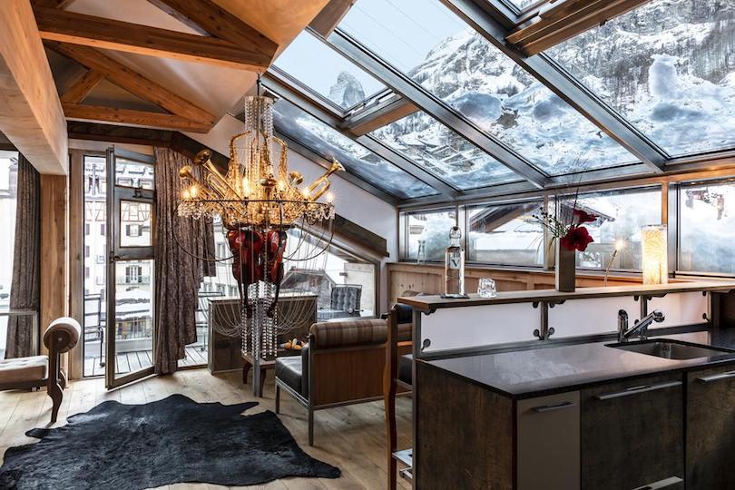 backstage_boutique_spa_hotel ▷ 8 mejores lugares para alojarse en Zermatt