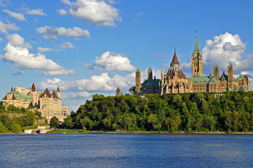 Cheap places to travel in august from canada