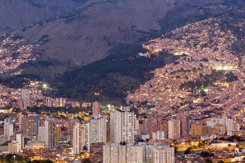 Famous cities in colombia