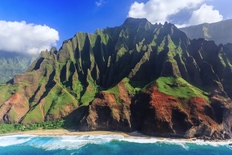 On The Island Of Kauai Also Known As Garden Isle You Can Explore Famed Na Pali Coast Along Sheer Cliffs Covered In Lush