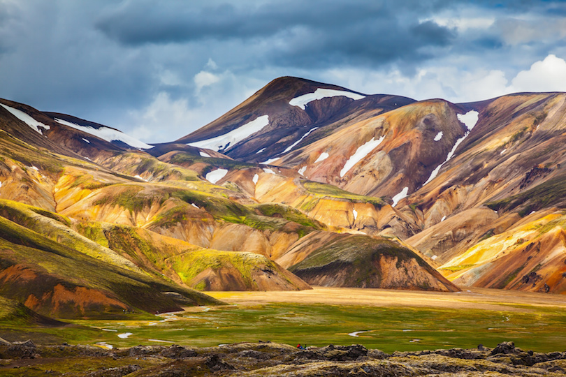 Located Within The Fjallaback Nature Reserve In Iceland S Interior Highlands Landmannalaugar Is Best Known For Its Scenic Hiking Trails