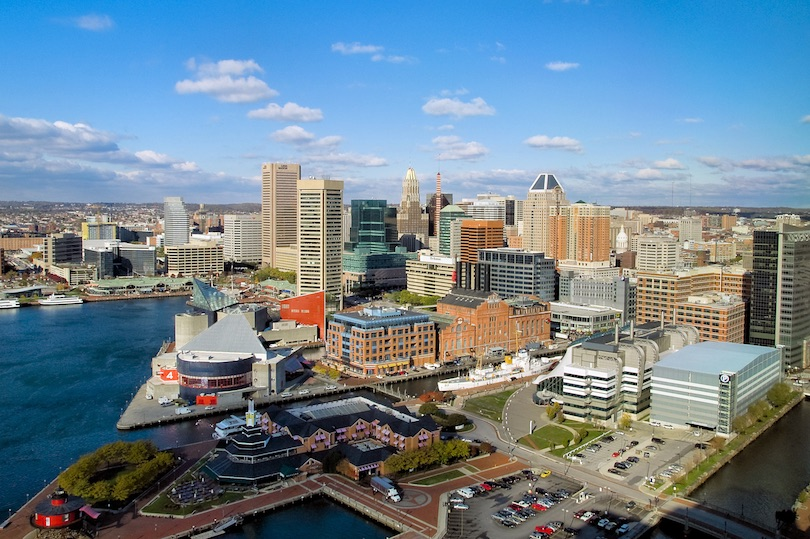 N.o 1 de los mejores lugares para visitar en Maryland