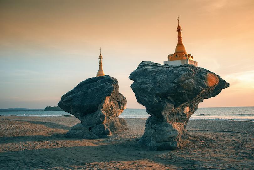 ngwe_saung ▷ 10 mejores lugares para visitar en Myanmar