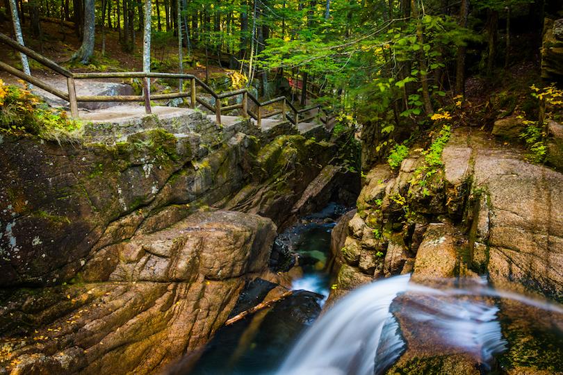 N.o 1 de los mejores lugares para visitar en New Hampshire