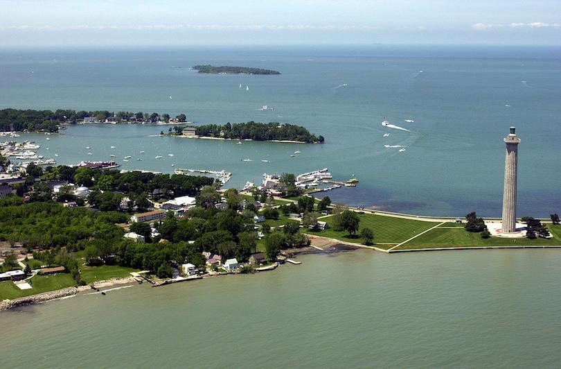 Islas del lago Erie