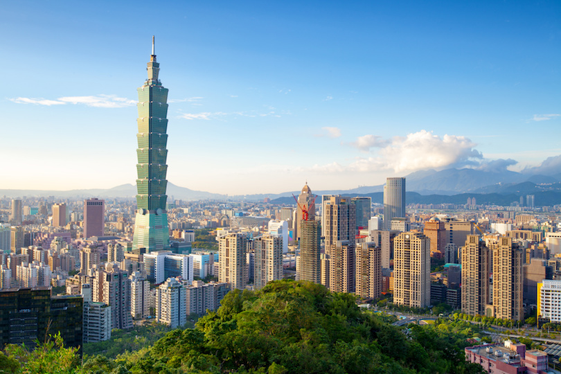 # 1 de los mejores lugares para visitar en Taiwán