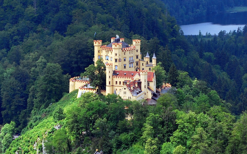 Map Of Germany Mountains.10 Most Beautiful Castles In Germany With Photos Map Touropia