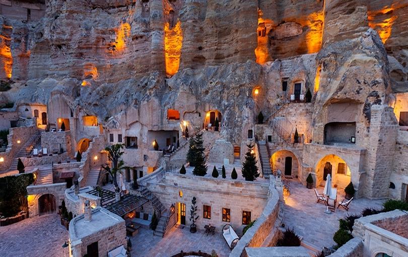 Slikovni rezultat za cave hotel cappadocia