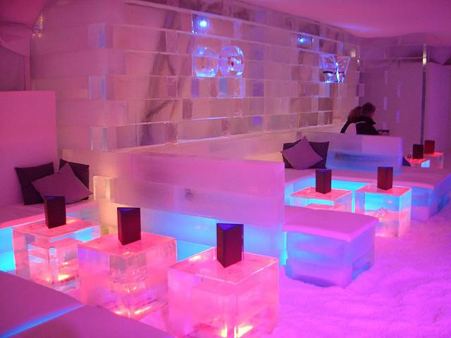 The famous Ice Bar Party