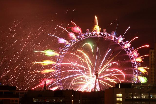 The London Fireworks Display