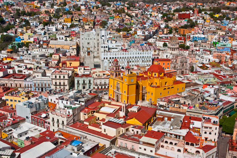 #1 of Cities With Colorful Houses