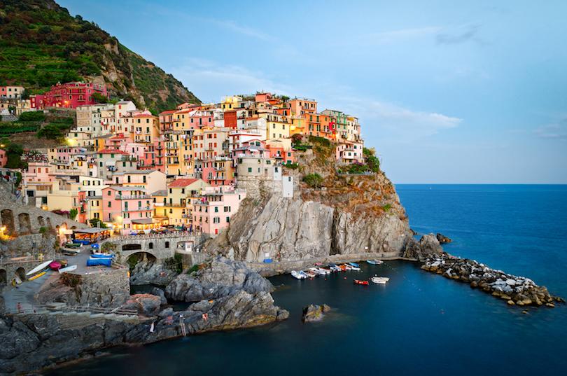# 1 de pequeñas ciudades en Italia