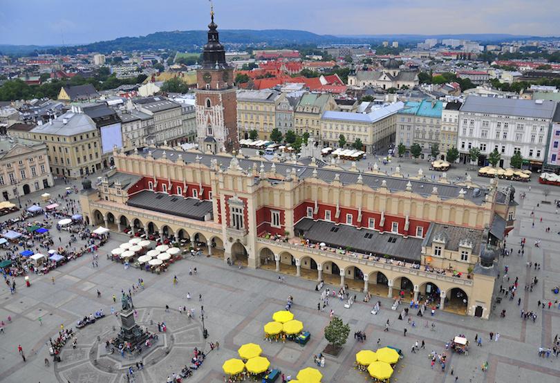 Plaza del mercado principal