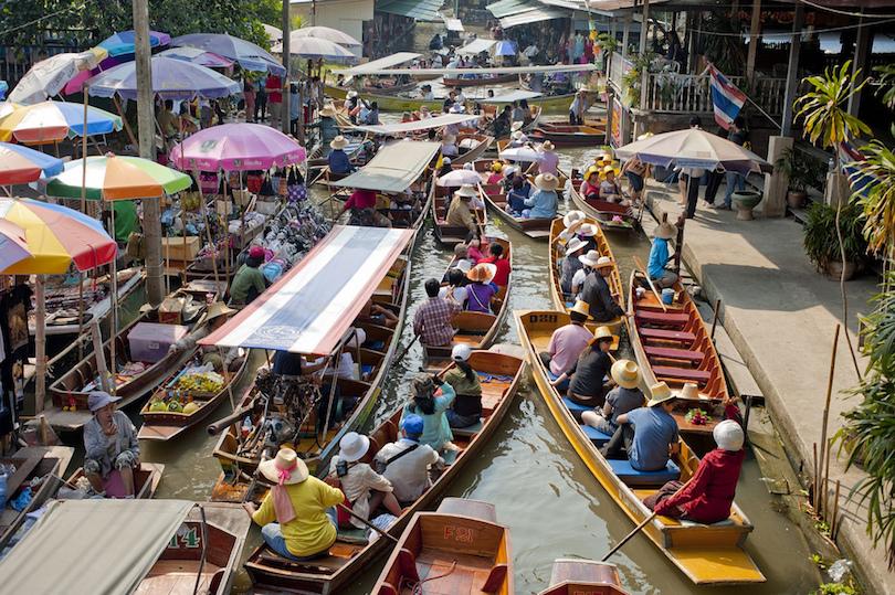 Mercados flotantes