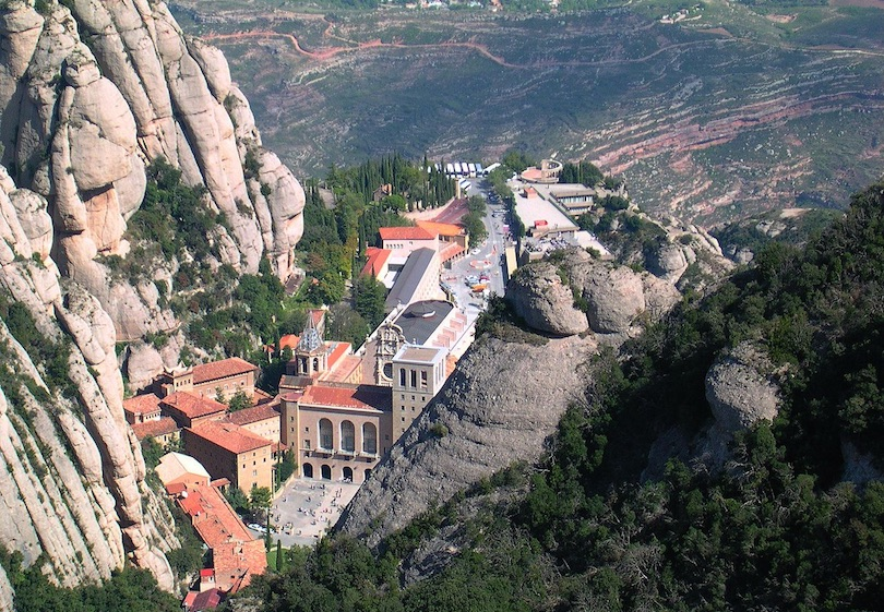 Carte Barcelone Montserrat.7 Best Day Trips From Barcelona With Photos Map Touropia