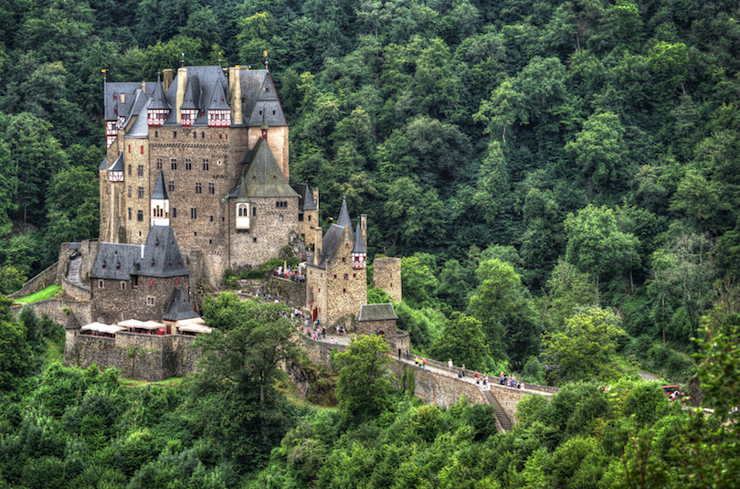 Map Of German Castles.10 Most Beautiful Castles In Germany With Photos Map Touropia