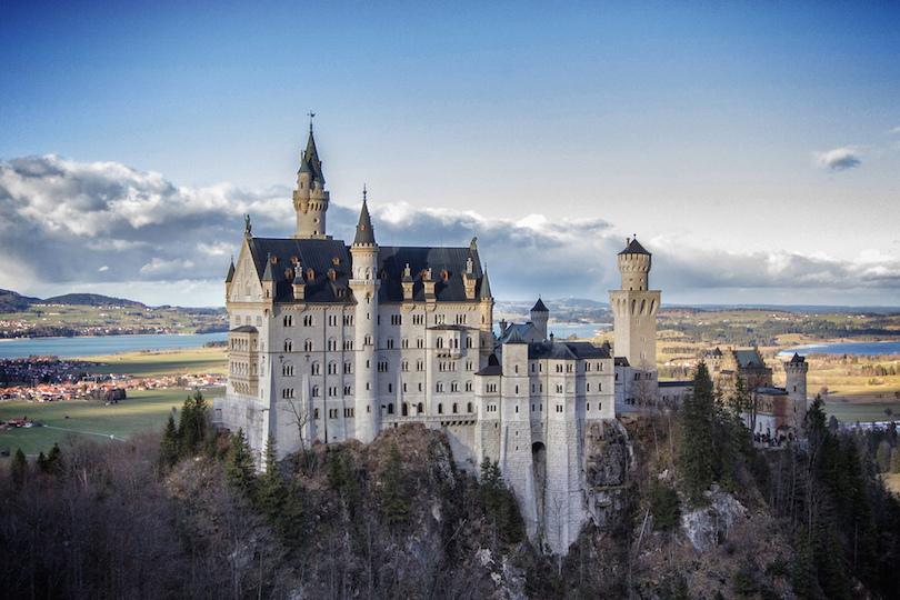 # 1 de castillos en Alemania