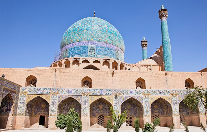 The Shah Mosque Or Imam In Isfahan Iran Is Regarded As One Of Masterpieces Persian Architecture Its Construction Began 1611