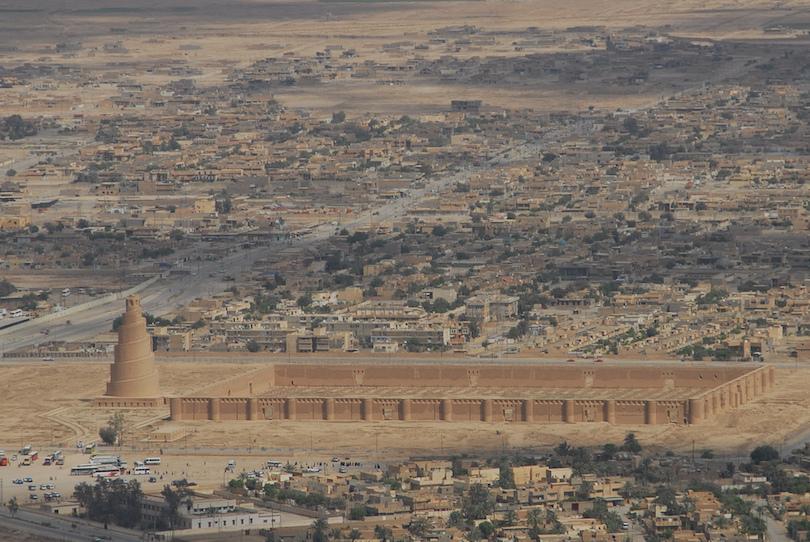 Minarete en espiral