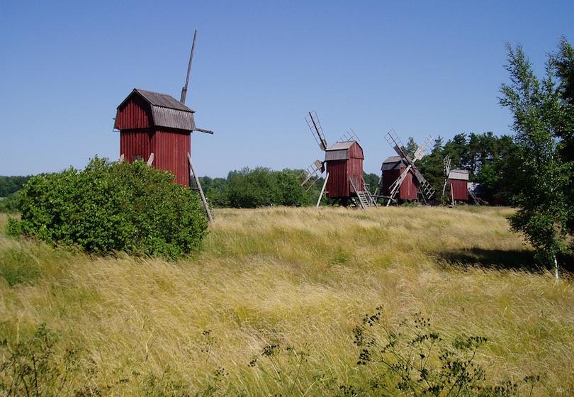 Molinos de viento de Öland
