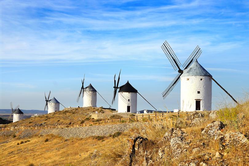 Molinos de viento de La Mancha