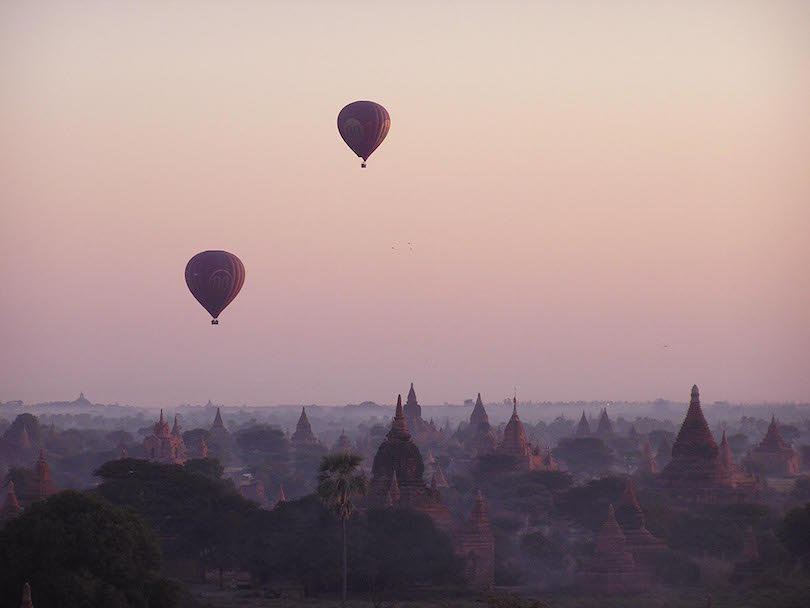 Bagan Hot Air Balloon Ride